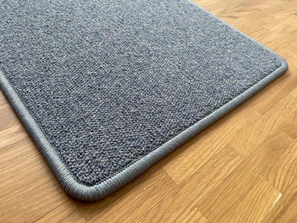 Antares Natur-Teppich Farbe blau