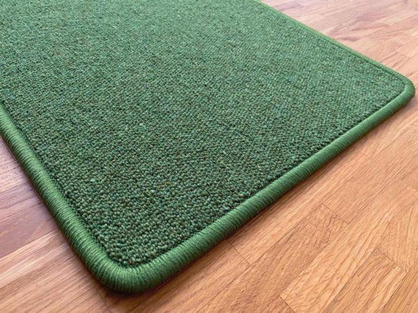 Antares Natur-Teppich Farbe grün