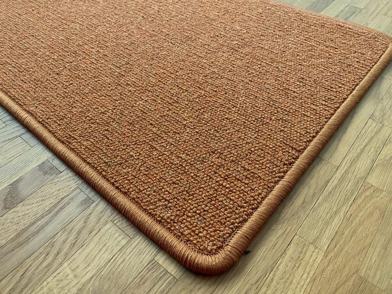 Antares Teppich Farbe Terracotta