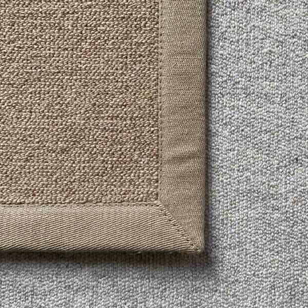 Antares Farbe hellbraun mit Leinenband beige