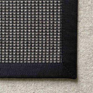 Elfur schwarz-braun Produktfoto mit Leinenband